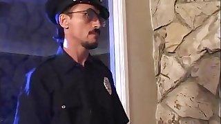 Cop gives teenage girl his big stick