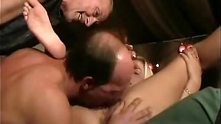 Younger girl is forced to take old dick