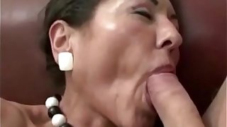 Hairy Granny Gets Cum On Will not hear of Hairy Pussy