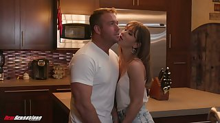 Killing hot babe with hairy muff Paige Owens is coitus with her boyfriend