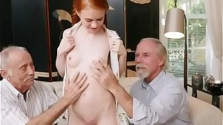 Tiny Teen Dolly Little Gets Naked For Old Men