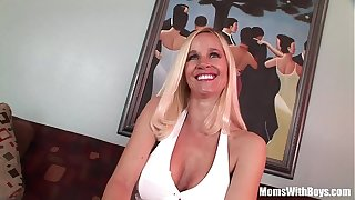 MILF Unequivocally Tabitha Big Tits Together with Racy Pussy Anal Fucked