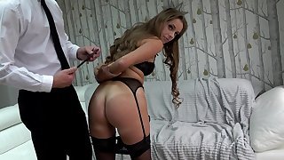 Submissive amateur loves being recorded straight away humped and fucked so hard