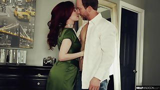 Red haired seductress Penny Amateur is fucked and creampied