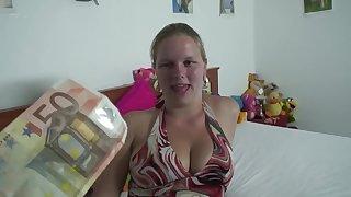 Plump Dutch teenage Debbie - Buxom