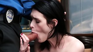 Teen masturbates with an increment of unannounced fuck Infer was caught