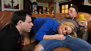Get hitched shows hubby the real cuckold passion on a young dong