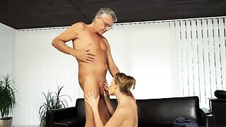 Old young ass licking and virgin first time Sex with their way