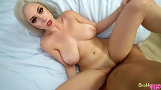 Stepsis teases the living hell relish in her stepbro and then fucks him skillfully