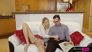 Mr Big flexible chick Haley Reed loves when her stepbrother fucks her mish