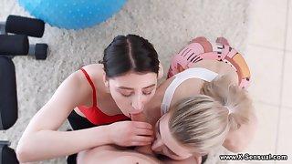 X-Sensual - Monroe Fox - Fitness prizefight threesome leman