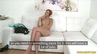 Horny driver sucks and fucks in casting interview